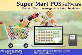 POS Software for Super Mart, General Store, Grocery Store Retail Store