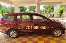 Car for Self Drive/Rent @ low cost (Honda Mobilio-7 Seater).