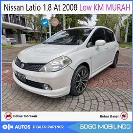 Nissan Latio 1.8 At 2008 Low Km Bisa Kredit