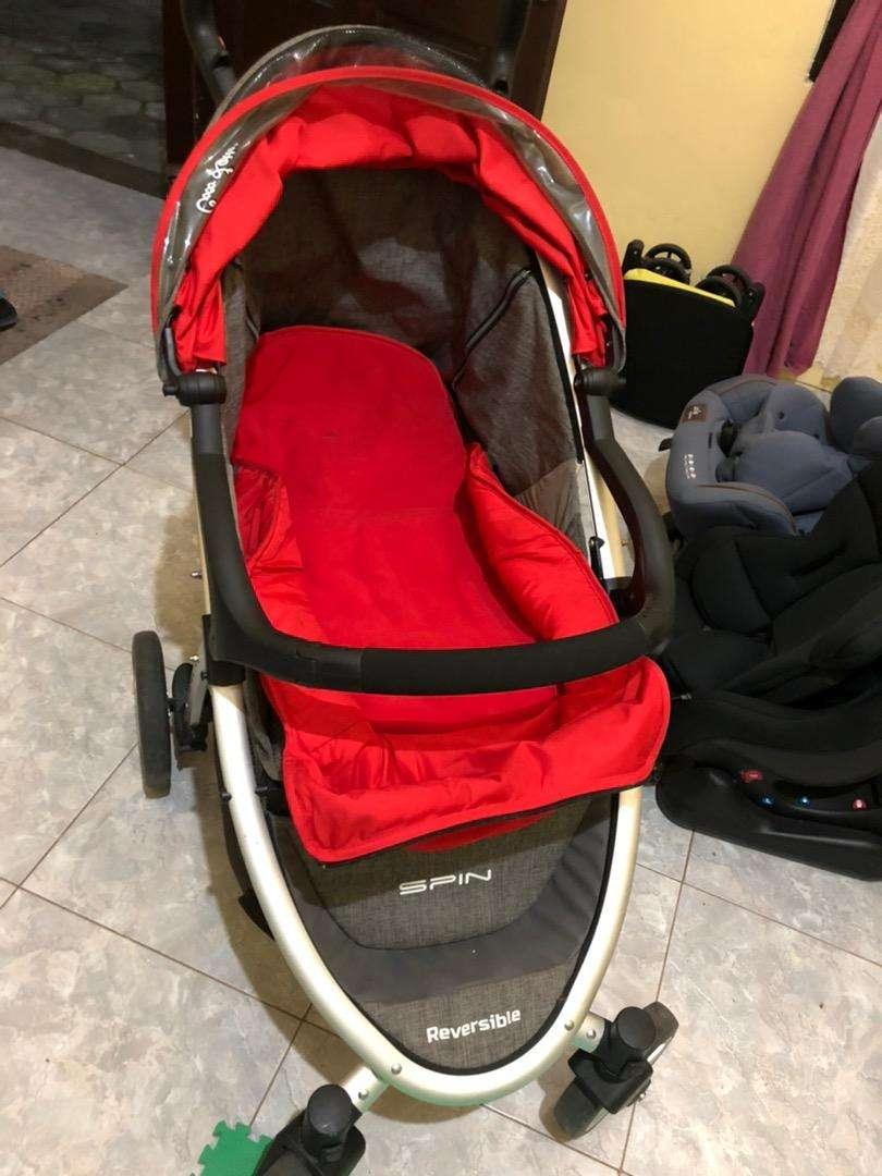 stroller Cocolatte Spin Reversible preloved 0