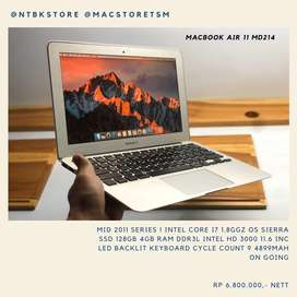 MacBook Air 11 MD214 core i7 SSD 128GB 4GB RAM 11.6 inc