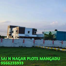 Cmda plots & villas in Mangadu,Porur