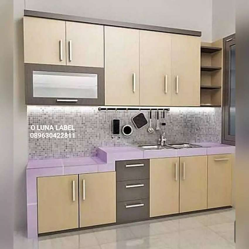 Custom pintu kitchen set dll 0