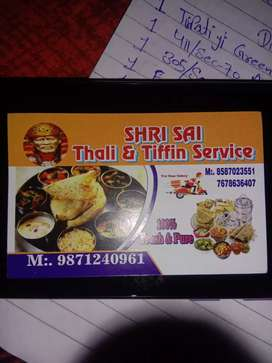 TIFFIN & THALI SERVICES