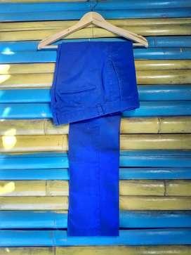 Celana Chino H&M biru