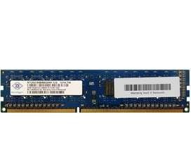 Ddr3 RAM 4GB(2Gb×2)