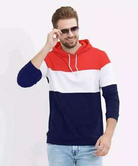 Non used men's hoodie t-shirt