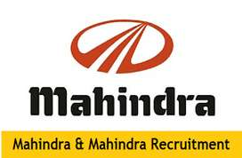 MAHINDRA MOTOR PVT LTD HIRING MALE FEMALE CANDIDATE AND AND EXPERIENCE