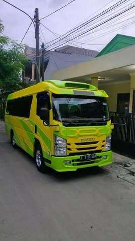 Pusatnya rental sewa mobil elf Hiace bus dll