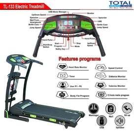 Alat Fitness Treadmll Elektrik TL-133 motor 2hp