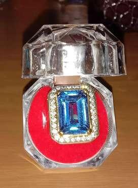 Cincin Pria Permata Blue Topaz