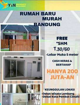Ambyar Parah!!! Rumah Mewah Di Bandung Hanya 200jt-an