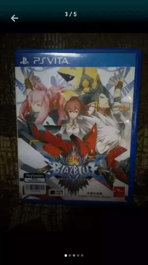 Dijual Game PS Vita Blazblue Chronophantasma 0