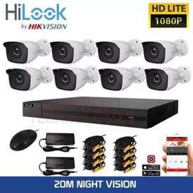 Paket hemat camera CCTV online pleus pemasangan area karawang