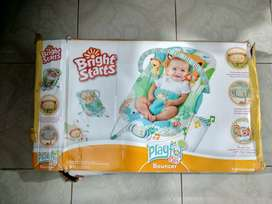 BrightStars Vibrating Bouncer for Infants