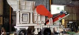 Stone Crusher Mobile Mesin Pemecah Batu type HF1012