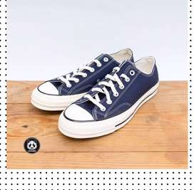 Sepatu Converse 70s Low Navy Original Garansi Uang Kembali Lk.08