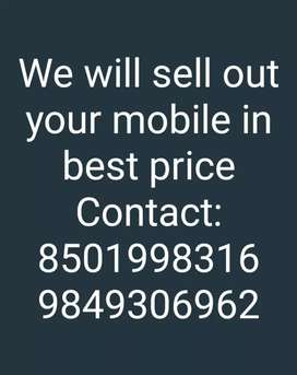 We will sell out your mobile in best price