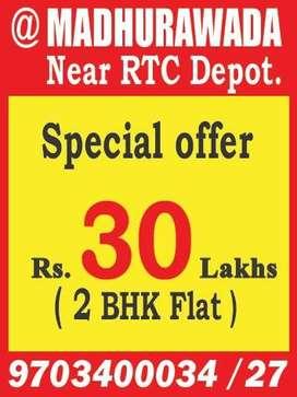Near RTC Depo Smart City, Madhurawada Flats For Sale