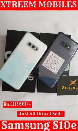 Samsung S10e..Just 45 Days Used..Brand New Condition..
