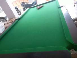 Snooker Table style Billiards Table 8 foot lth and 4 foot bdt 6 legs