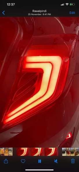 Honda civic x 2019 back lights