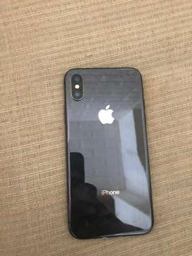 Iphone X Space Grey 64 gb Fullset