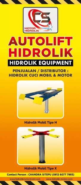 Paket Lengkap Hidrolik Mobil Tipe X