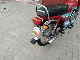 Honda 70 lush condition like zero metr jhang no computerised plates