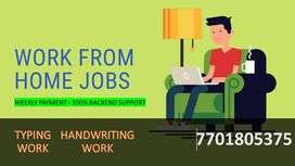 PART TIME JOB HANDWRITING JOB (HOME BASED WORK)