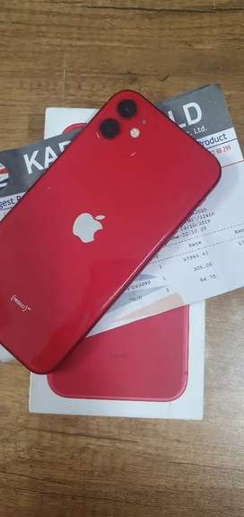 Iphone 11 - 64GB - Red - Under Apple India Warranty