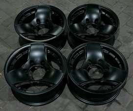 Velg R/Ring 14 R14 Panther L200 Mobil Retro 6x139.7 Velg Mobil Murah