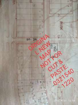 Four sided open PLOT  located one in Islamabad