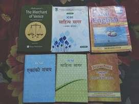 ICSE BOOKS CLASS 9-10 ENGLISH AND HINDI
