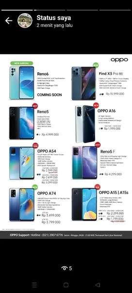 OPPO RENO 6 KREDIT/CASH/TUKARTAMBAH BISA