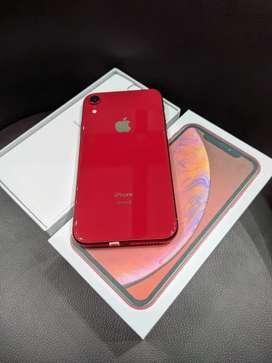 IPHONE XR 256Gb Warna RED EDITION MASIH NORMAL LIKE NEW