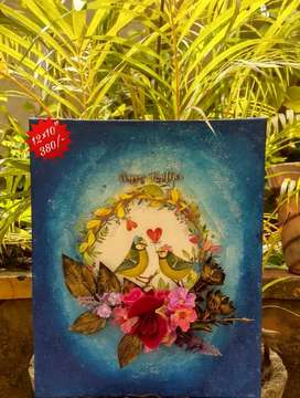 Crafts and handmade paintings