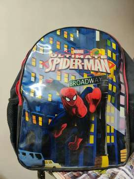 Spider man school bag