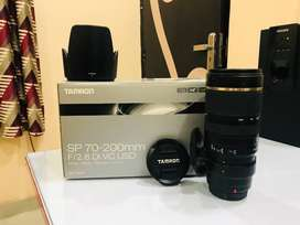 Tamron A009S SP 70-200mm F/2.8 Di VC USD with HOOD for CANON with Box
