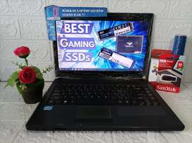 Laptop Acer Aspire 4749 Intel Core i3 Ram 4GB HDD 500GB+120GB SSD