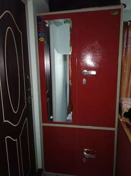 Metal Two door wardrobe for sell