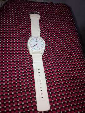 adidas watch white