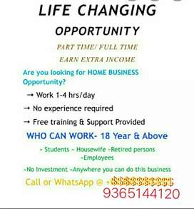 Part time / Free time Business opportunity
