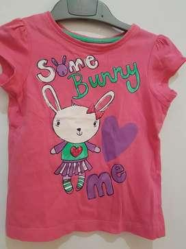Kaos anak mothercare some Bunny uk 2-3