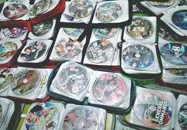 Dijual koleksi kaset DVD total 1.250 lebih