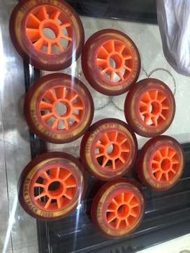 Inline speed wheels