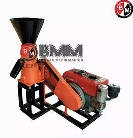 Mesin cetak pelet vertical 80kg/jam