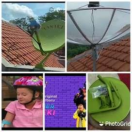 Teknisi pasang parabola CCTV servis area tanjung pinang barat