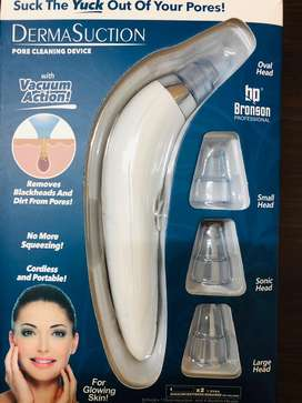 Whitehead and blackhead remover vaccume