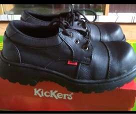 Sepatu Touring Low Boots Kickers Lokal Murah Berkualitas Safety Nyaman